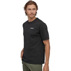 Patagonia P-6 Logo Responsibili-Tee maglietta Uomo, nero